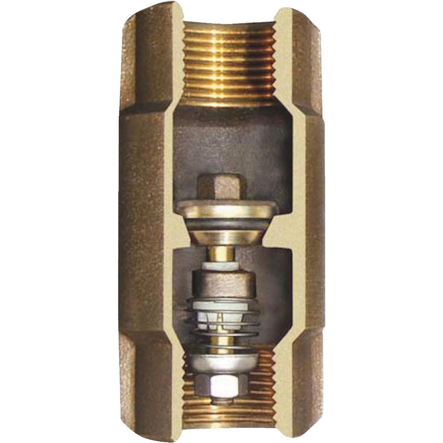 Simmons 1-1/2 In. Silicon Bronze Lead Free Check Valve Image 1