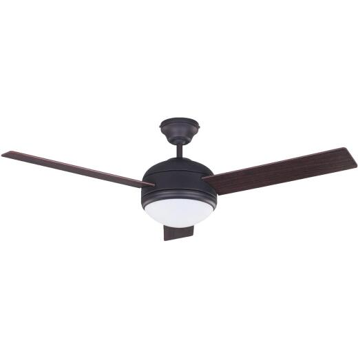 Home Impressions Calibre 48 In. Oil Rubbed Bronze Ceiling Fan with Light Kit