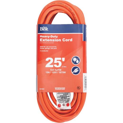 Do it Best 25 Ft. 14/3 Heavy-Duty Outdoor Extension Cord