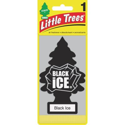 Little Trees Car Air Freshener, Black Ice