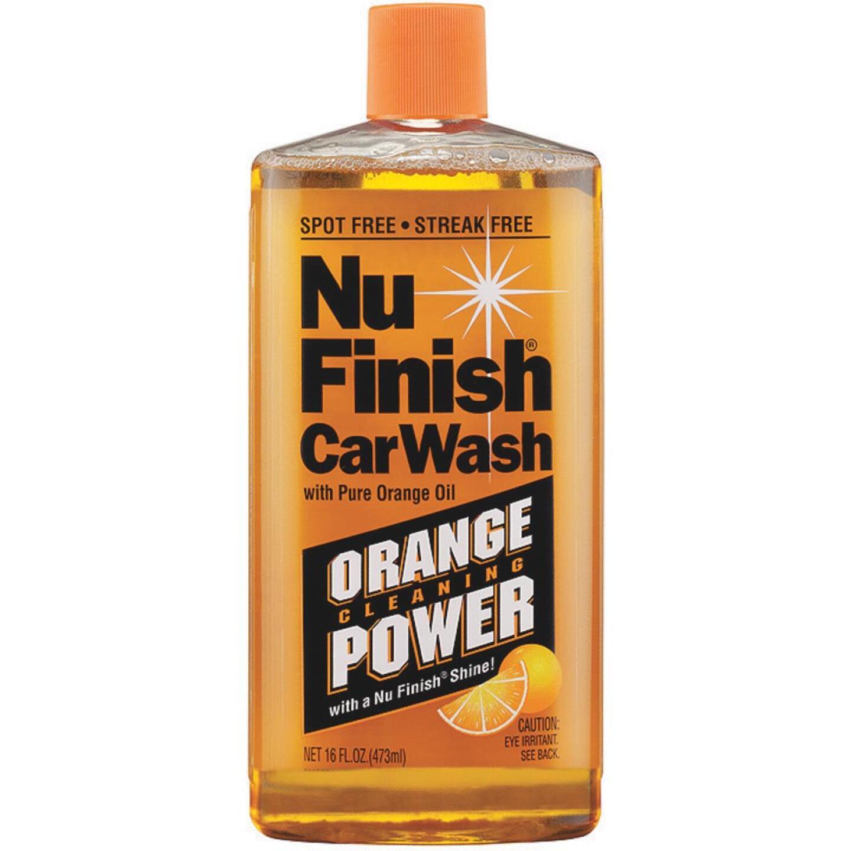 Nu Finish Liquid Concentrate 16 oz Car Wash Image 1