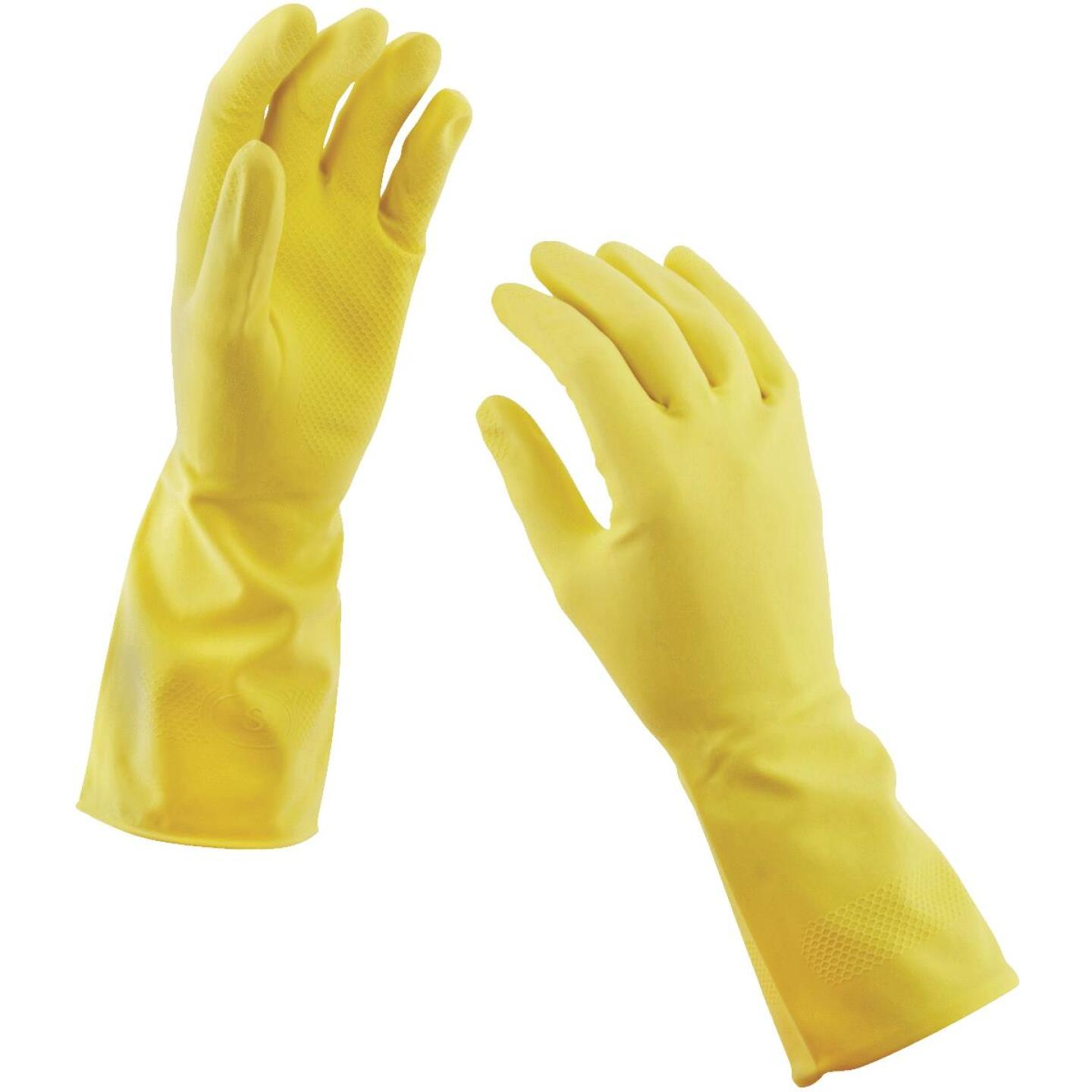 Soft Scrub Small Latex Rubber Glove (2-Pack) Image 2