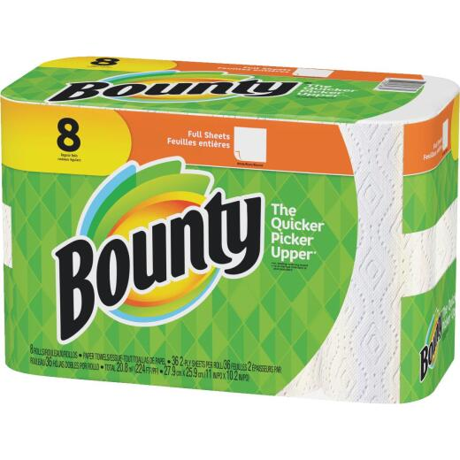 Bounty Full Sheets Paper Towel (8 Roll)
