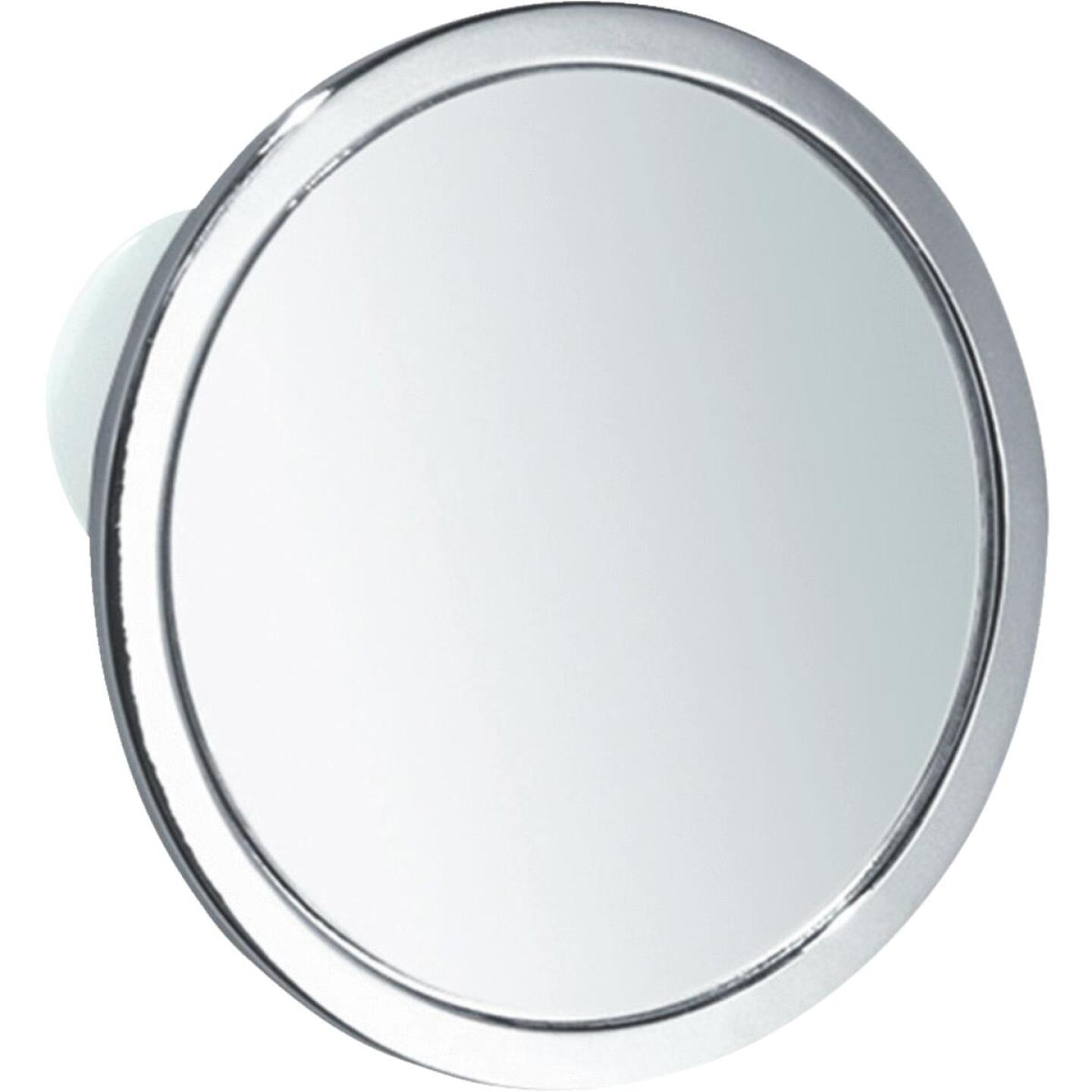 InterDesign Zia 5.75 In. Dia. Fog-Free Mirror Image 2