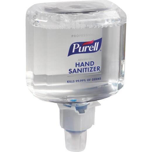 Purell Professional ES6 Advanced Foaming 1200 mL Hand Sanitizer for Touch-Free Dispenser