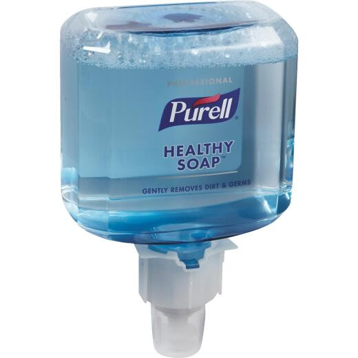 Purell ES6 Professional Healthy Soap Foam 1200 mL Fresh Scent Hand Cleaner for Touch-Free Dispenser