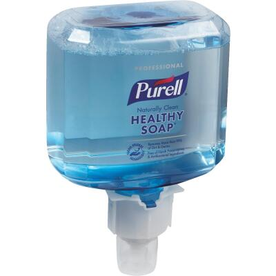 Purell ES4 Professional CRT Healthy Soap Foam 1200 mL Clean Scent Hand Cleaner for Push-Style Dispenser