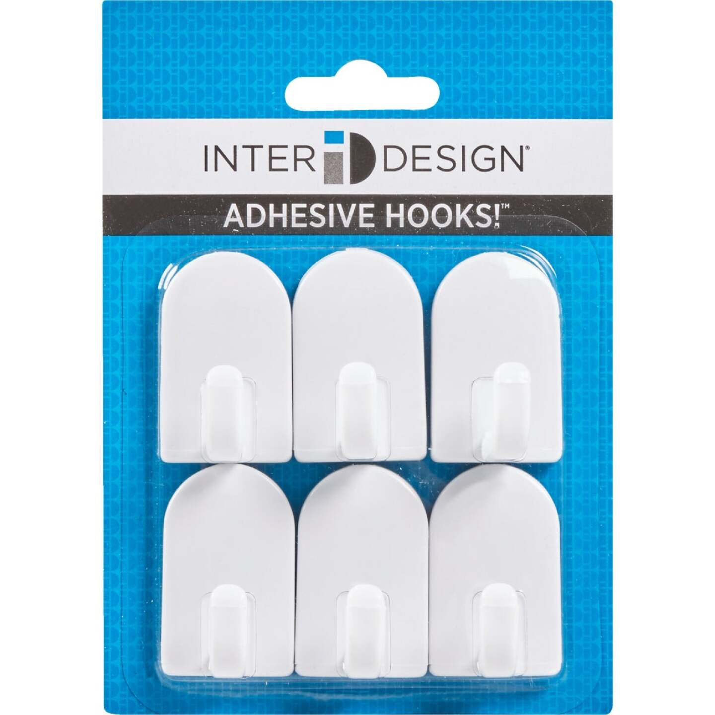 InterDesign Soap Savers Mini White Plastic Adhesive Hook (2-Pack) Image 2