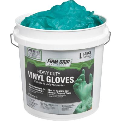 Firm Grip Large Heavy-Duty Vinyl Disposable Glove (300-Pack)