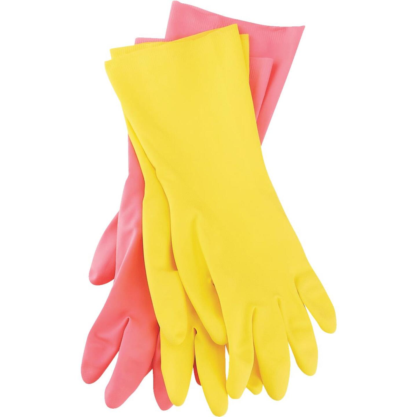 Soft Scrub Small Latex Rubber Glove (2-Pack) Image 3