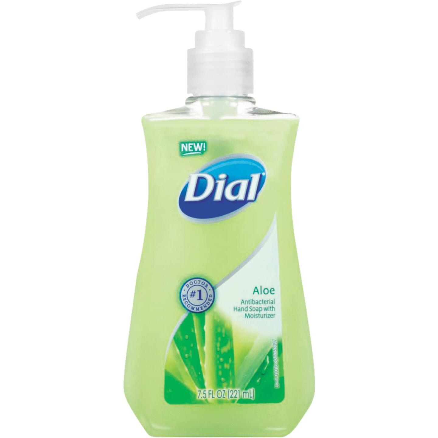 Dial Aloe Antibacterial Liquid Hand Soap with Moisturizer Image 1