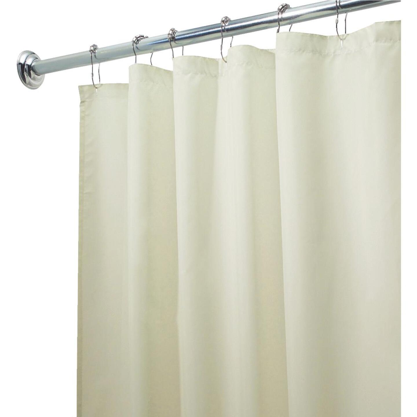 InterDesign 72 In. x 72 In. Sand Polyester Shower Curtain Liner Image 2