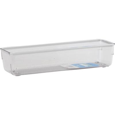 Interdesign Linus 3 In. x 9 In. x 2 In. Clear Drawer Organizer