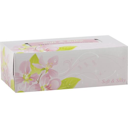 Soft & Silky 175 Count 2-Ply White Facial Tissue