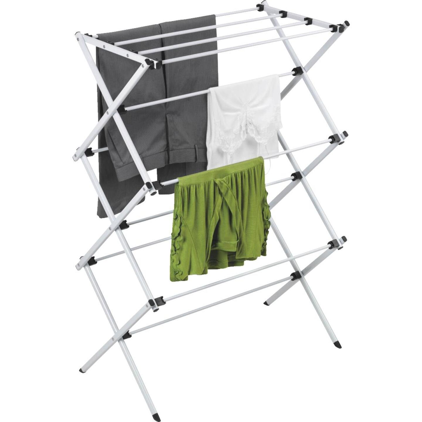 Honey Can Do Deluxe Metal Clothes Drying Rack Image 1