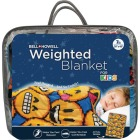 Bell+Howell Kids 7 Lb. Weighted Blanket- Emoji Image 1