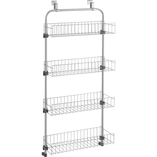 Metaltex 4-Shelf Over-The-Door Storage Rack