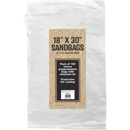 18 In. x 30 In. Empty Sandbags (100-Pack)