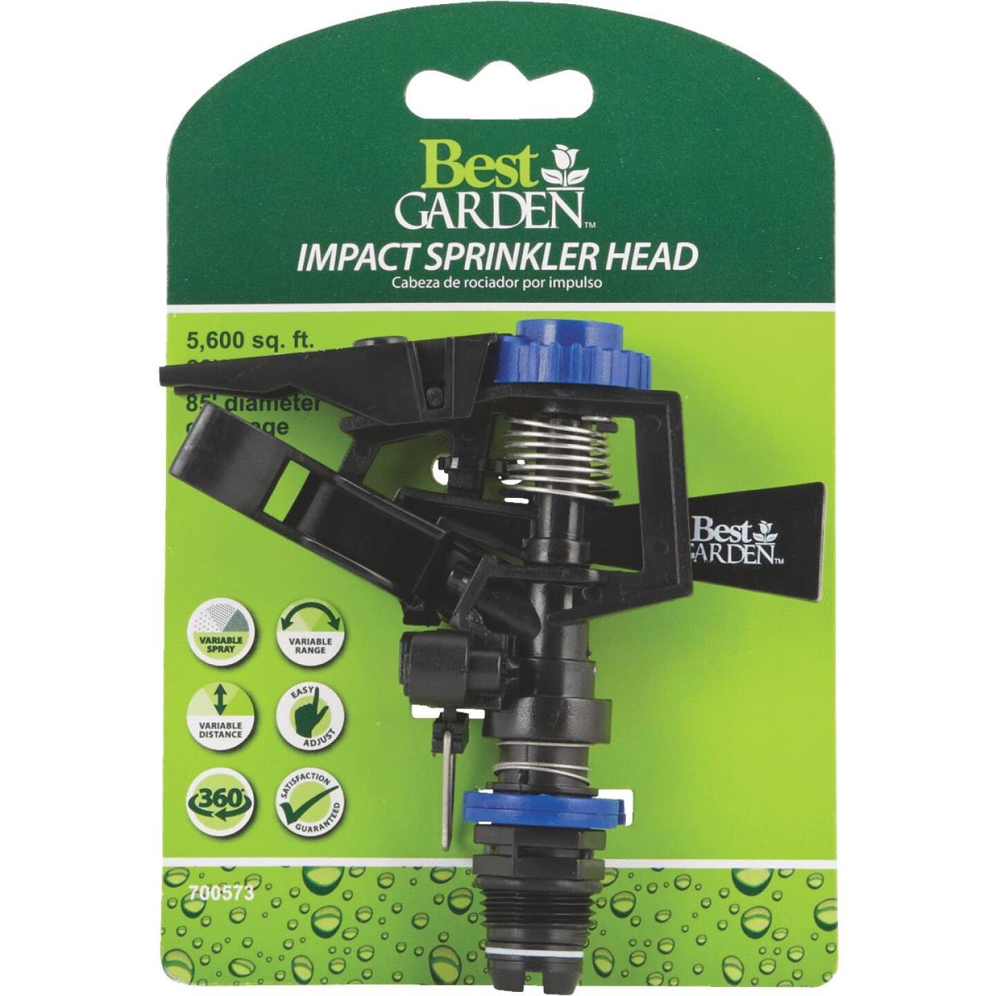 Best Garden Poly 85 Ft. Dia. Impulse Sprinkler Head Image 2