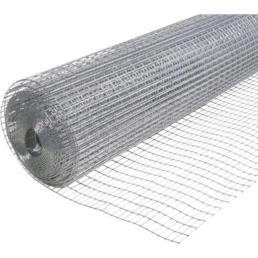 Do it Utility 48 In. H. x 25 Ft. L. (1x1/2) Galvanized Welded Wire Fence