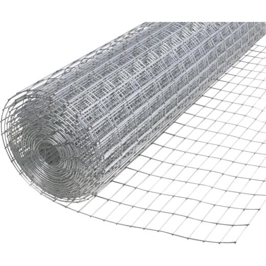 Do it Utility 48 In. H. x 25 Ft. L. (1x2) Galvanized Welded Wire Fence