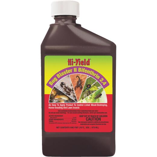 Hi-Yield Bug Blaster II 16 Oz. Concentrate Insect Killer