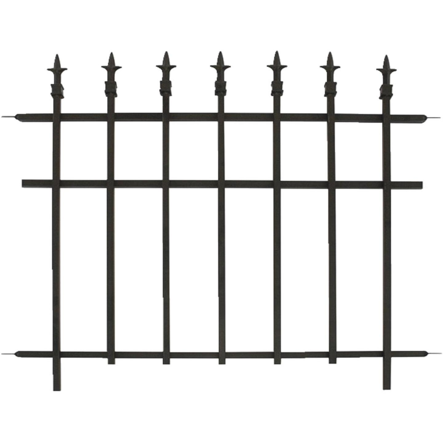 Panacea 30 In. H x 37 In. L Metal Decorative Border Fence Image 1