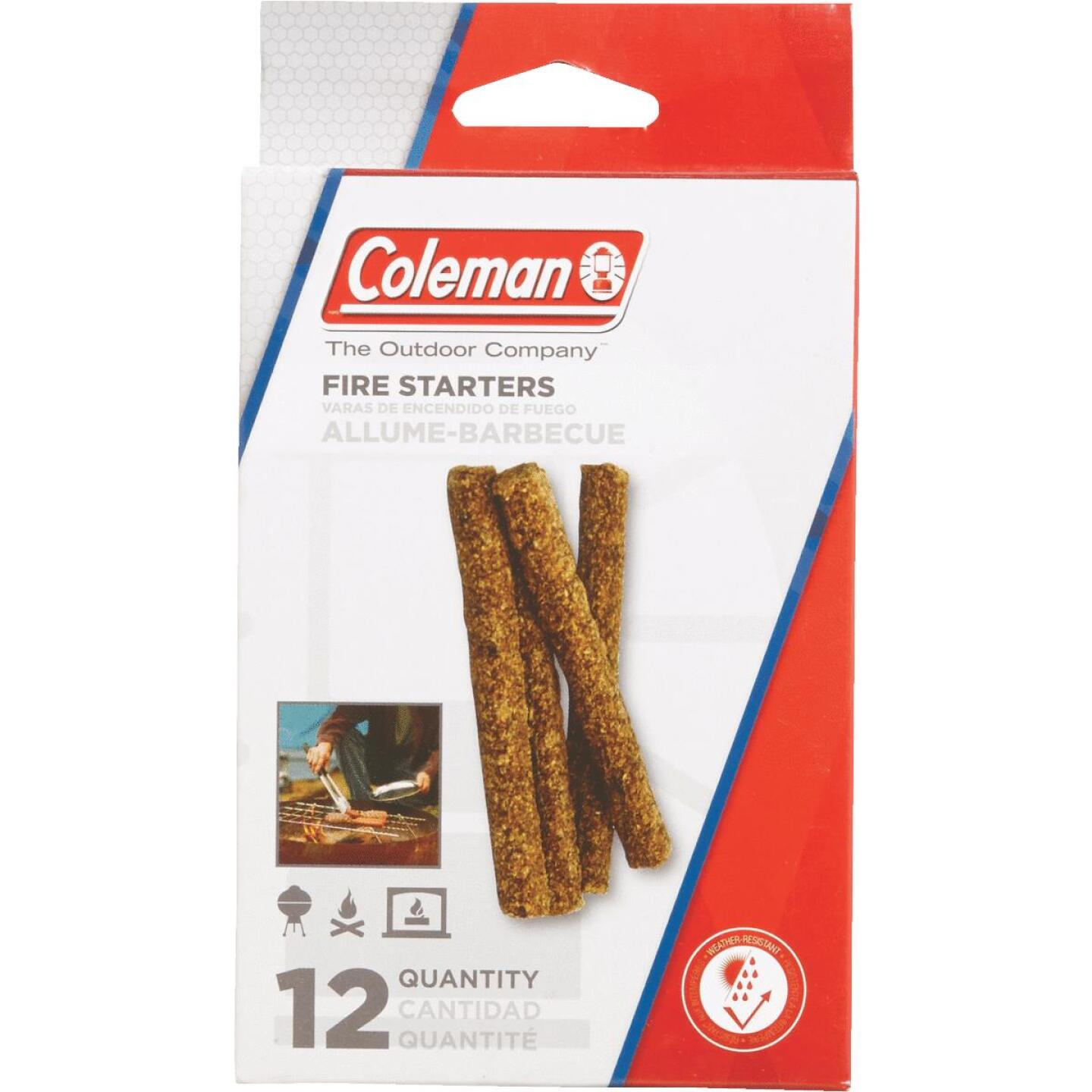 Coleman Fire Starter (12-Pack) Image 1