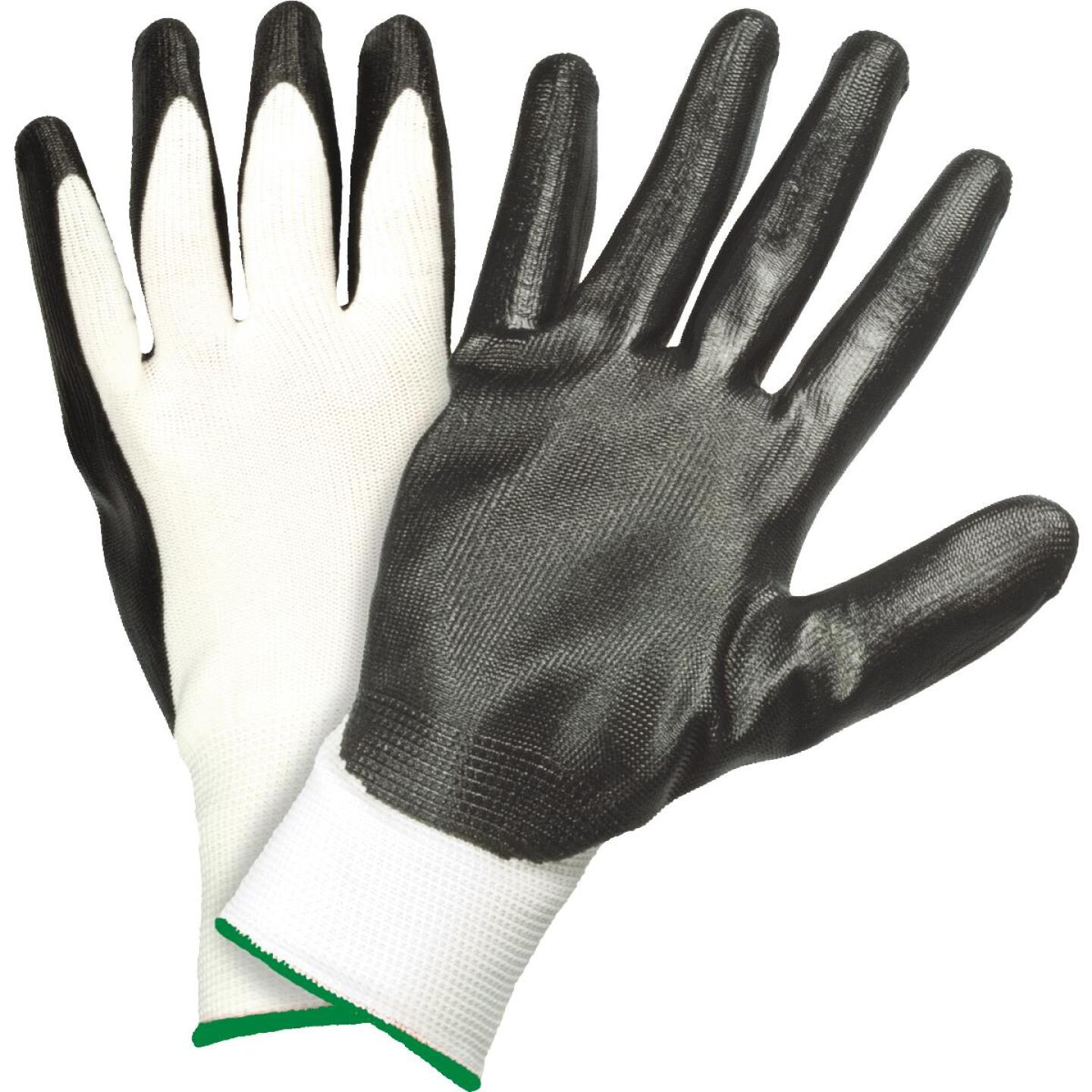 West Chester Protective Gear Men's Large Nitrile Coated Glove (5-Pack) Image 1