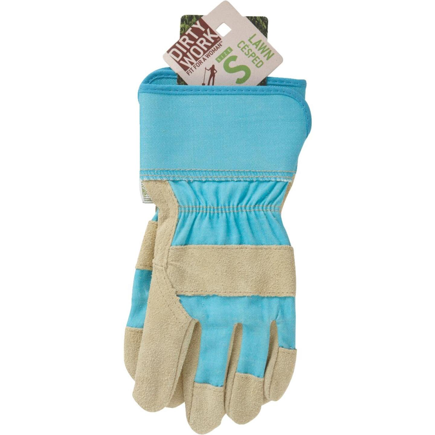 West Chester Protective Gear Dirty Work Women's Small Leather Work Glove Image 2