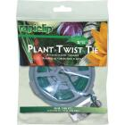 Rapiclip 100 Ft. Green Plastic Coated Galvanized Wire Twist Tie Image 1
