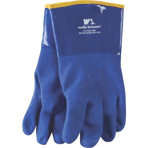 Wells Lamont Men's 1 Size Fits All Chemical Resistant PVC Coated Glove