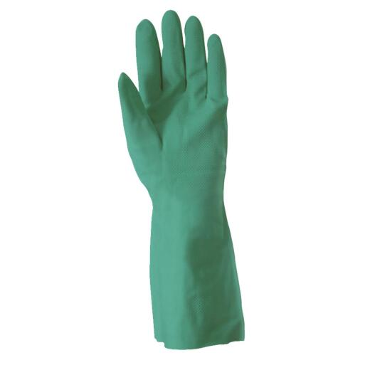 Wells Lamont Large Nitrile Solvent Rubber Glove