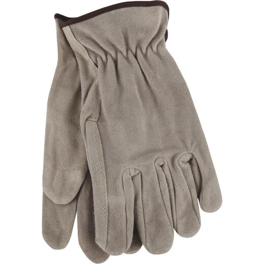 Do it Men's Large Brushed Suede Leather Work Glove
