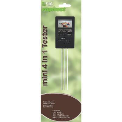 Rapitest Plastic 4-In-1 Mini Soil Tester