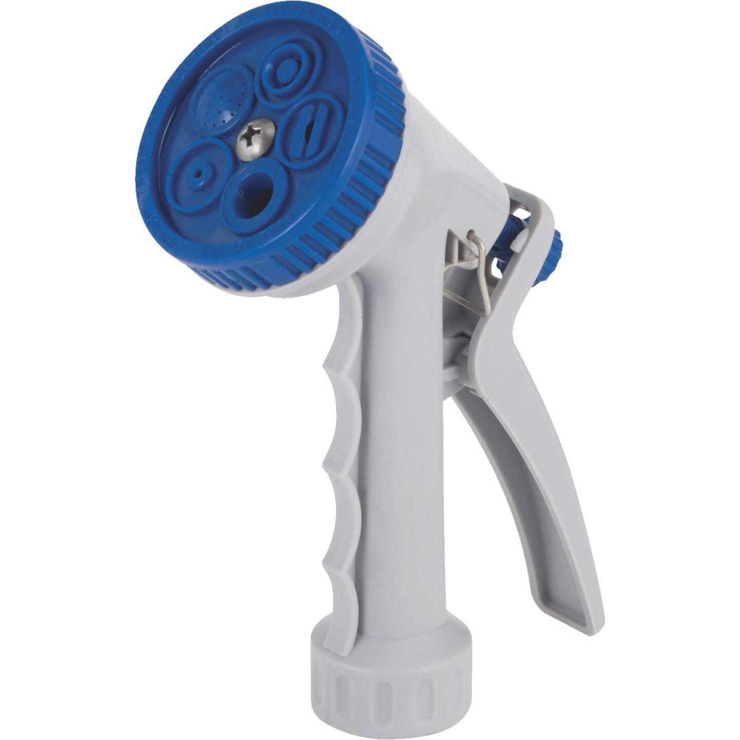 Best Garden Poly 5-Pattern Nozzle, Blue & Gray Image 1