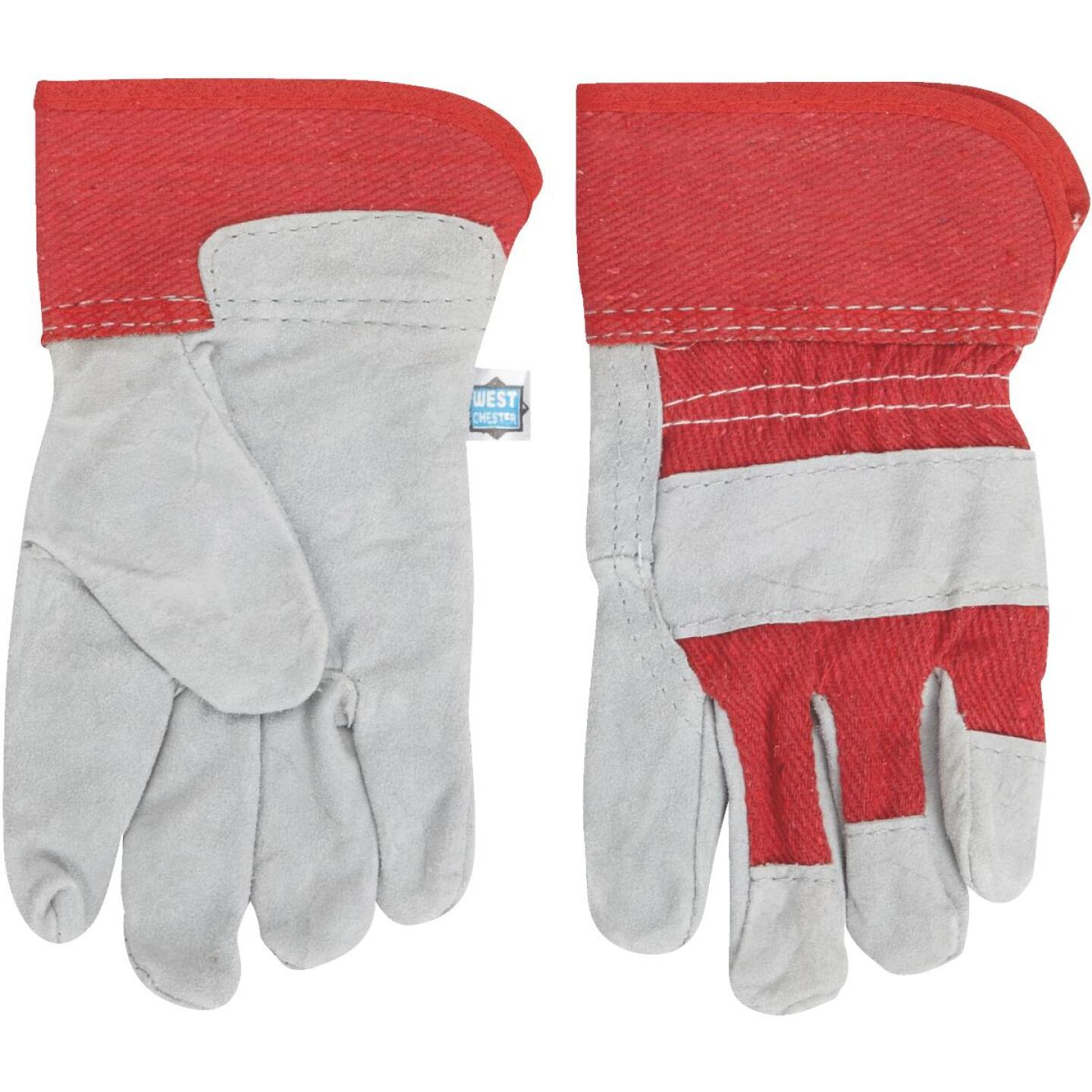West Chester Protective Gear Age 5 to 8 Leather Glove Image 3