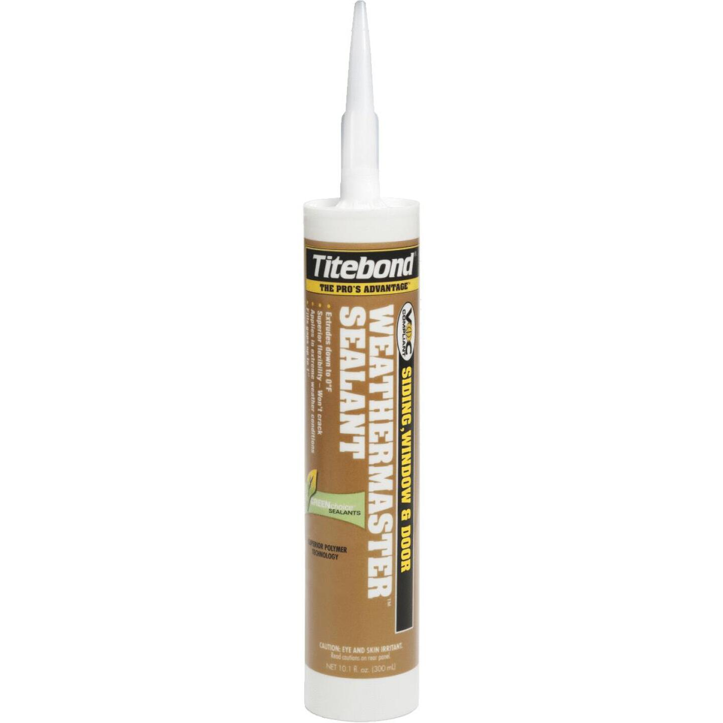 Titebond WeatherMaster 10 Oz. Polymer Sealant, 43991 Crystal Clear Image 1