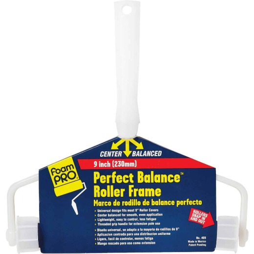 FoamPro Perfect Balance 9 In. Threaded Roller Frame