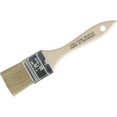 1-1/2 In. Flat Chip Natural Bristle Paint Brush
