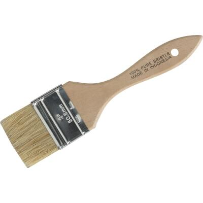 2 In. Flat Chip Natural Bristle Paint Brush