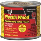 DAP Plastic Wood 4 Oz. Walnut Solvent Professional Wood Filler Image 1