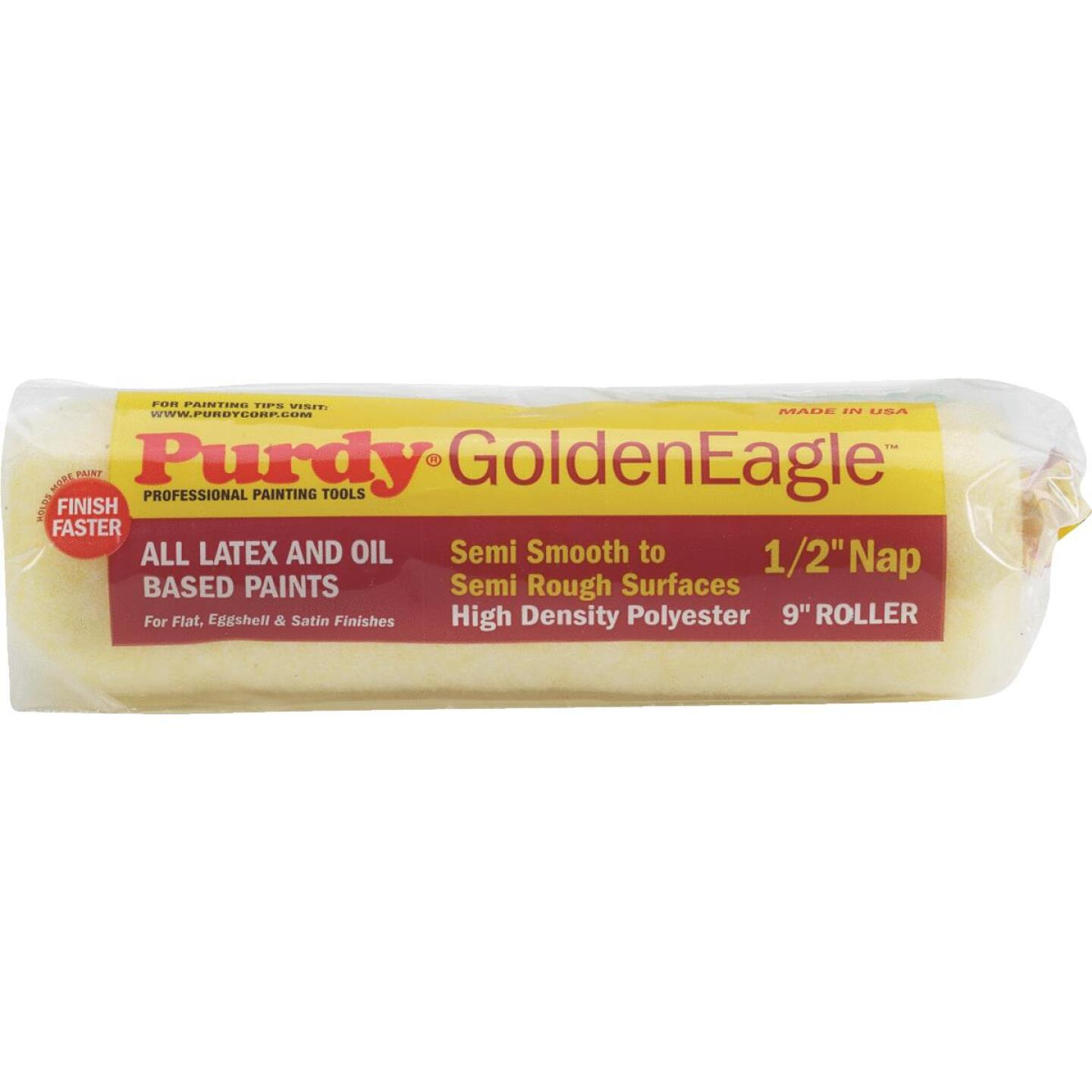 Purdy Golden Eagle 9 In. x 1/2 In. Knit Fabric Roller Cover Image 1