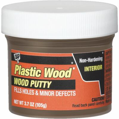 DAP Plastic Wood 3.7 Oz. Dark Walnut Wood Putty