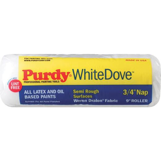 Purdy White Dove 9 In. x 3/4 In. Woven Fabric Roller Cover