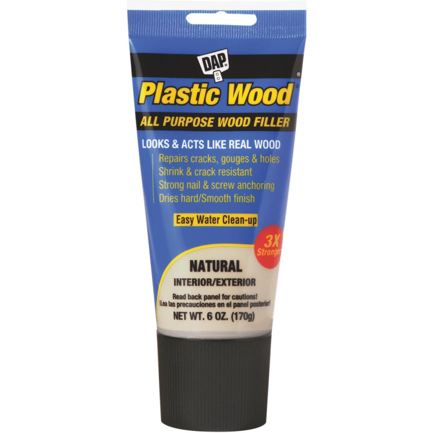 Dap Plastic Wood 6 Oz. Natural All Purpose Wood Filler Image 1