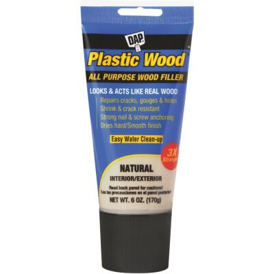 Dap Plastic Wood 6 Oz. Natural All Purpose Wood Filler