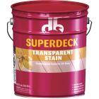 Duckback SUPERDECK Transparent Exterior Stain, Redwood, 5 Gal. Image 1