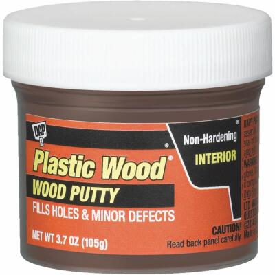 DAP Plastic Wood 3.7 Oz. Red Mahogany Wood Putty
