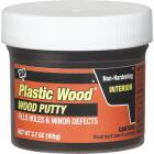DAP Plastic Wood 3.7 Oz. Ebony Wood Putty Image 1
